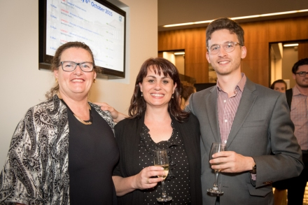 New Lawyer Language contribtuors Bernadette Healy, Arna Delle-Vergini and Dean Edwards (Photo: Sagona Photography)